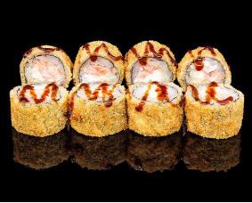 Мини темпура с лососем