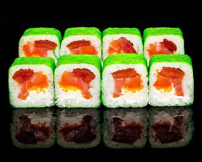 Роллы Поцелуй гейши