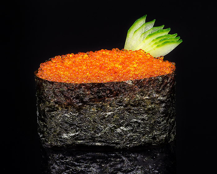 Гункан-суши Тобико Оранжевое